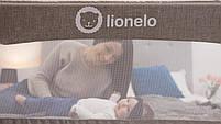 Захисний бортик для ліжка Lionelo EVA BEIGE melange, фото 6