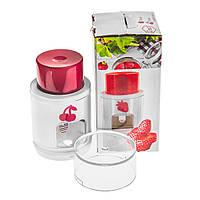 Вишнечистка і слайсер для полуниці 2 в 1 NRP38GRAT