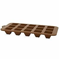 Силіконова форма для шоколаду 20,5x10,3x1,8cm NRS15BAK
