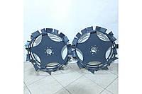 Колеса з грунтозацепами 600/150 (10*10 мм) (воздушка/водянка) М'ЯКИЙ ХІД НОВИЙ ЗРАЗОК Євро Булат, фото 1