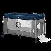Кроватка-манеж Lionelo THOMI BLUE NAVY, фото 3