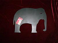 Меловая доска Слон (38 х 49), декор