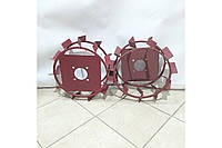 Колеса з грунтозацепами 380/160 (10*10, культиватор) Євро Булат