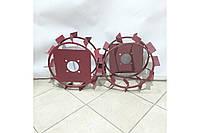 Колеса з грунтозацепами 380/160 (10*10, культиватор) Євро Булат, фото 1