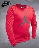 Мужской свитшот JORDAN RED. Реплика Турция. Весна Осень. Мужская одежда. Красный