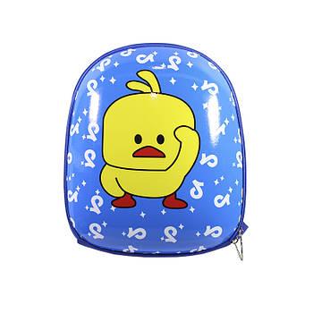 Детский рюкзак с твердым корпусом Duckling A6009 Blue
