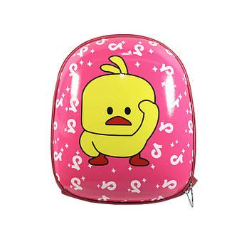 Детский рюкзак с твердым корпусом Duckling A6009 Pink