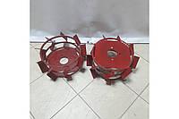 Колеса с грунтозацепами 380/160 (10*10, культиватор УСИЛЕННЫЕ) Булат, фото 1