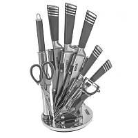 Набор ножей с подставкой 9 предметов NS26SETKN/BK