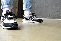 Кросівки Нью Беланс 574 Grey підошва з піни знизу зносостійка гума Репліка, фото 2