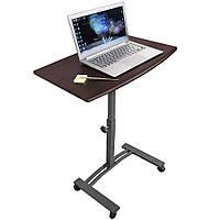 """Мобільний стіл для ноутбука з розмірами від 7"""" до 17"""" на колесикахTatkraft SALUTE 13353"""