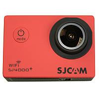 Экшн камера SJCam SJ4000+ 2K (красный)