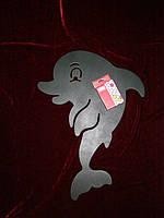Меловая доска Дельфин (46 х 35), декор