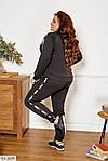 Женский спортивный костюм с лампасами (Батал), фото 5