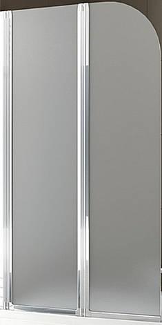 Шторка для ванны AQUAFORM MODERN 2 170-07011, хром, стекло,сатин, левая, фото 2