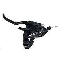 Манетка моноблок Shimano ST-EF51, 3 скорости (левая)