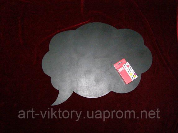 Меловая доска Речевое облако (51 х 45), декор, фото 2
