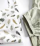 Домашний костюм-пижама 100% хлопок, майка и штаны, фото 5