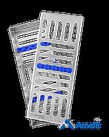 Лоток для стерилизации инструментов TYPE 1 (Meddins), 1 шт.