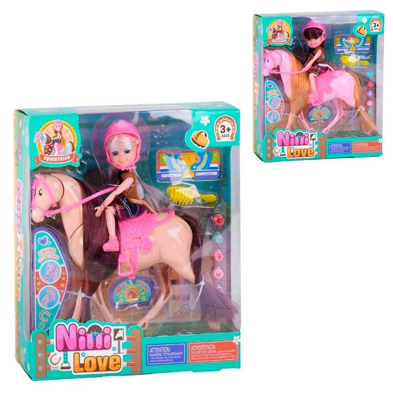 Кукла с лошадкой 53819