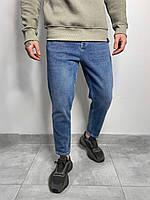 Мужские джинсы МОМ синие RD3384, фото 1