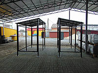 Автобусна зупинка з склопакетом