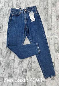 Универсальные синие джинсы мом Zeo Basic 4390 (34-40)