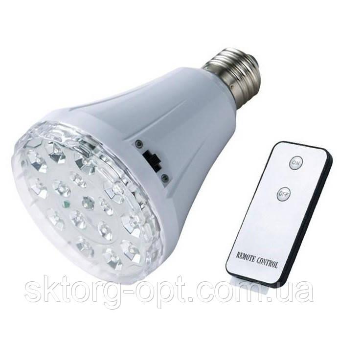 Аварийная LED лампочка YJ-1895AL с Пультом