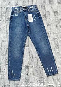 Стильные джинсы на каждый день мом коттон Zeo Basic 4415 (34-40)