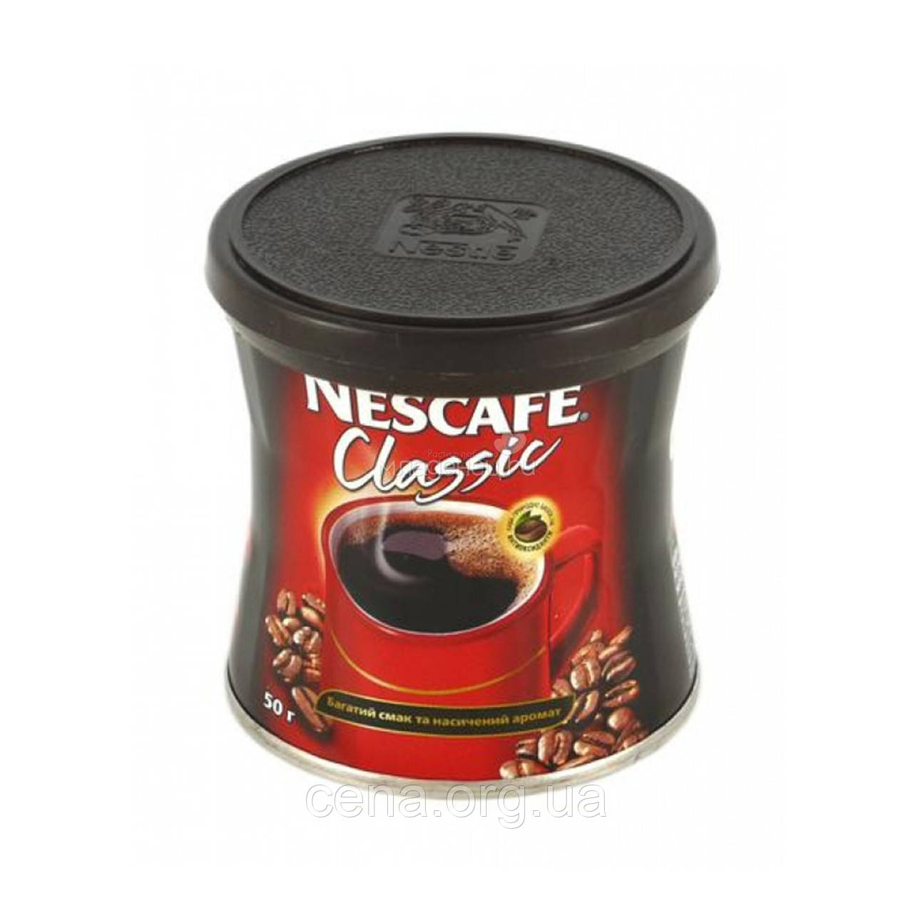 "Кофе растворимый ""Nescafe"" классик  50гр  ж\б"
