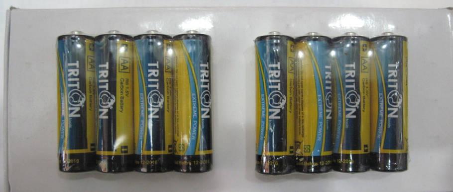Батарейки TRITON R6, АА, фото 2