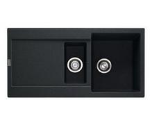 Мойка керамогранитная FRANKE MRG 651, ONYX черная 114 0255 808, 970x500мм