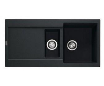 Мойка керамогранитная FRANKE MRG 651, ONYX черная 114 0255 808, 970x500мм, фото 2