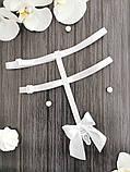 Підв'язки для панчіх (портупеї) з регуляторами Білі, фото 4
