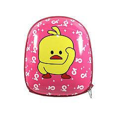 Дитячий рюкзак Duckling A6009 Pink з твердим корпусом