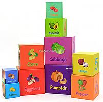 Развивающие игрушки CLASSIC WORLD кубики-трансформеры «Овощи» (20028), фото 6