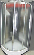 Душевая кабина 90х90 см Italian Style ELEGANT E392TM  полукруглая