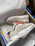 Женские кроссовки Adidas Nite Jogger beige, фото 9