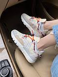 Женские кроссовки Adidas Nite Jogger beige, фото 2