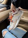 Женские кроссовки Adidas Nite Jogger beige, фото 4