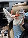 Женские кроссовки Adidas Nite Jogger beige, фото 7