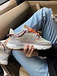 Женские кроссовки Adidas Nite Jogger beige, фото 6