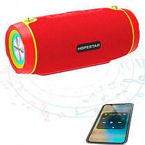 Портативна бездротова Bluetooth колонка Hopestar Original P13 Black чорна Speaker (оригінал), фото 3