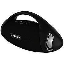 Портативная беспроводная Bluetooth колонка Hopestar Original Hopestar H37 Black Speaker, фото 3