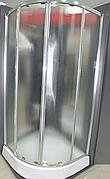 Душевая кабина 100х100 см Italian Style ELEGANT E392TM  полукруглая