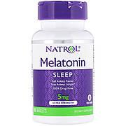 Мелатонин, С Повышенной Силой Действия, 5 мг, Natrol, 60 таблеток