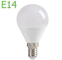 Светодиодная лампа 9Вт Е14 G45 6500К LM3057, фото 1