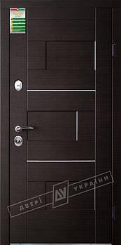 Двері вхідні серії БС модель Куб (комплектація KALE)