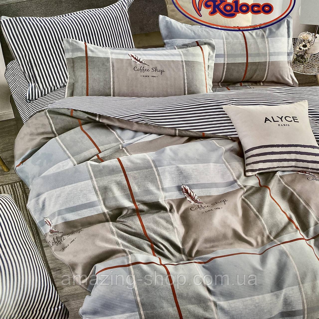 Постельное белье Евро размер Фланелевый комплект постельного белья Хорошее качество