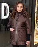 Женская демисезонная куртка,размеры:48-50,52-54,56-58,60-62., фото 6